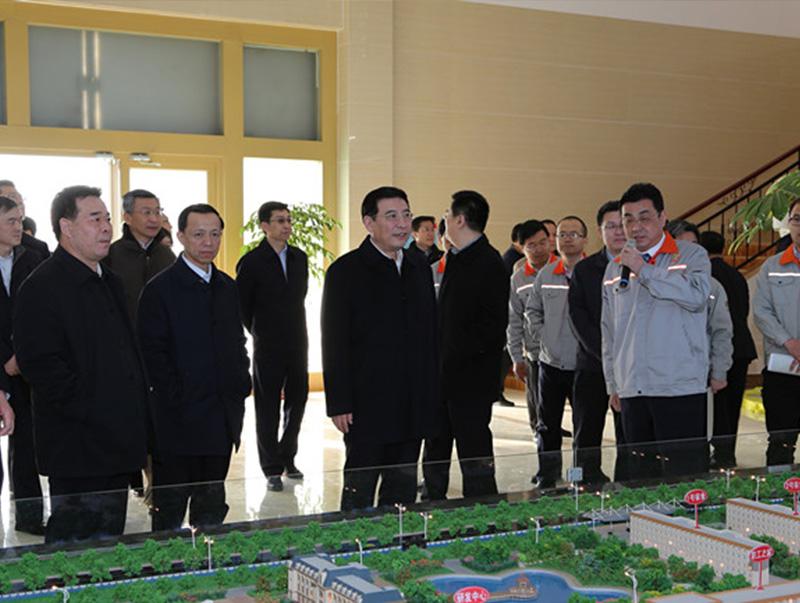 工业和信息化部部长、党组书记苗圩来公司视察