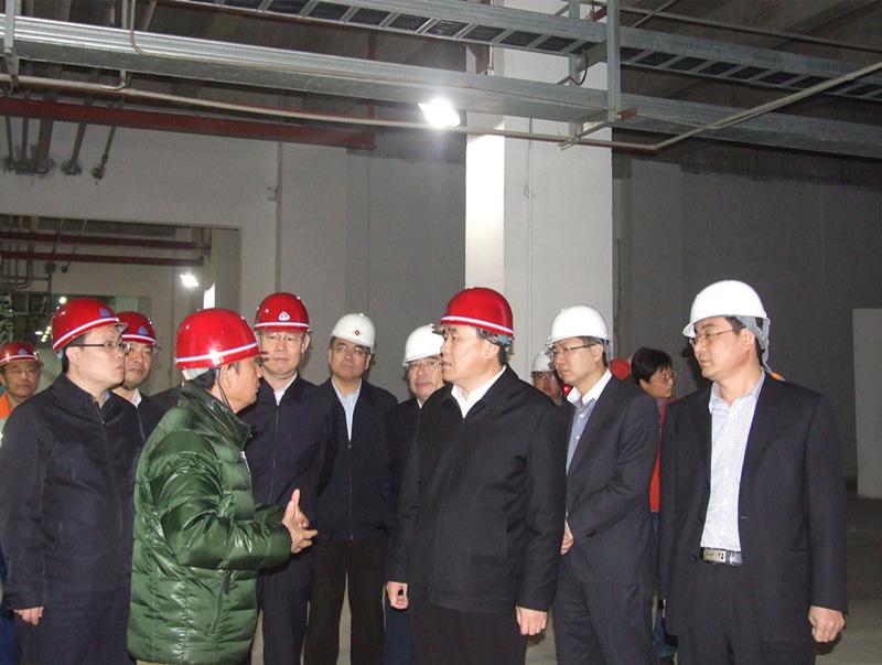 潍坊市委常委、常务副市长邹庆忠来公司参观